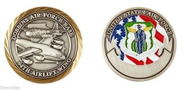 DOBBINS AIR FORCE BASE 94TH AIRLIFT WING CHALLENGE COIN - $17.09