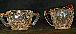 Waterford Cream and Sugar USA Pair with gold trim AA19-LD11942 Vintage image 6