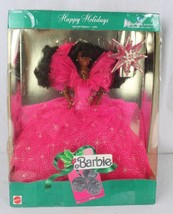 Happy Holidays special edition 1990 African American barbie doll - $13.00