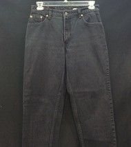 Levi's 550 Denim Jeans Relaxed Tapered Leg Women's Size 13 Black Tag Vin... - $44.50
