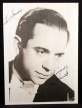 "Autographed Photograph ""Jan Savitt"" Big Band leader 40's Original - $36.00"