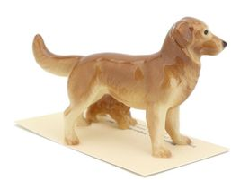 Hagen Renaker Miniature Dog Golden Retriever and Puppy Ceramic Figurine image 4