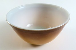 Vintage PYREX Gold/Brown Mixing Bowl 1.5 Quart - $11.87