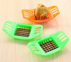 Potatoes Cutting Device French Fries Strip Cutting Machine Vegetable Sli... - $8.44