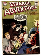 Strange Adventures #83 1957- Loncoln / Washington cover - DC Silver Age - $37.83