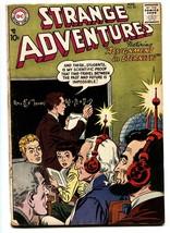 Strange Adventures #83 1957- Loncoln / Washington cover - DC Silver Age - $37.83