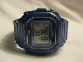 Casio Water Resistant Digital Wristwatch w/ Adjustable Buckle Band - $59.00