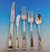 Classic Rose by Reed & Barton Sterling Silver Flatware Set 8 Service 45 Pieces - $2,150.00