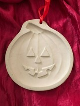 Brown Bag Cookie Art 1992 Hill Design Halloween Jack-O-Lantern Pumpkin Mold - $19.78