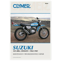 Clymer M369 Manual for Suzuki 125-400CC Singles 64-81 - $33.16