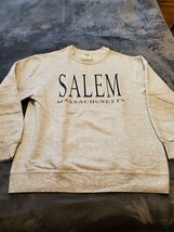 Salem Massachusetts Unisex Sweatshirt - Gray - Size Medium - $20.00