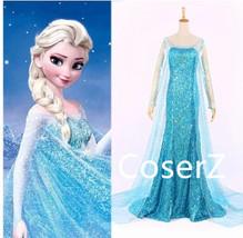 Custom-made Elsa Dress Cosplay Costume - $129.00
