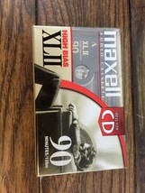 New Maxell XL II Cassette Tape 90 Minute High Bias Type II IEC II Positi... - $6.92