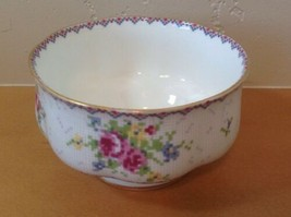 Royal Albert Petit Point Open Sugar Bowl Needlepoint Design Floral England - $9.49
