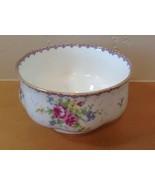 Royal Albert Petit Point Open Sugar Bowl Needlepoint Design Floral England - $9.49