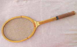 Bancroft Super Winner Wooden Tennis Racket Registered 4.5 Light Grip 1970s - $64.99