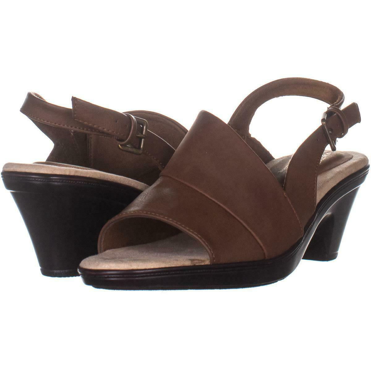 Primary image for Easy Street Irma Slingback Sandas 081, Tan, 7.5 US