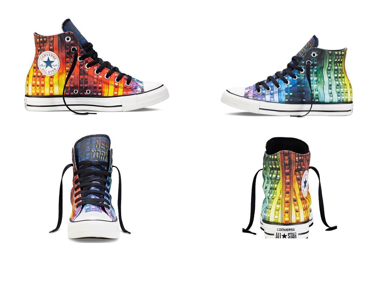 08acf7b276a3 Converse NEW YORK Gay Pride LGBT Colorful and 50 similar items