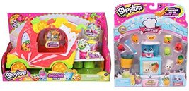Shopkins Groovy Smoothie Truck & Chef Club Juicy Smoothie Collection - $49.45