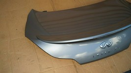 08-13 Infiniti G37 Coupe Rear Trunk Lid Tail Gate W/ Spoiler & Back-Up image 2