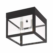 Livex Lighting 20588-04 Transitional Two Light Outdoor Ceiling Mount from Nyack  - $146.16