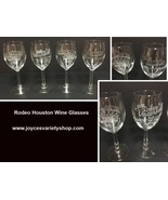 Rodeo Houston Wine Glasses Collectibles 2007 2005 2012 75th Anniversary ... - $29.99
