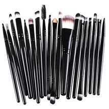 20pcs Eye Makeup Brushes Set Eyeshadow Blending Brush Powder Foundation ... - €16,42 EUR