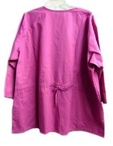 Landau Scrub Set Freesia 2XL V Neck Top Drawstrng Pants Women's Discontinued image 7