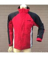 Spyder Winter Coat Boys 20 Red Black Shell Zip-Out Fleece Inner Jacket S... - $64.34