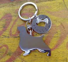 New English Springer Spaniel Custom Dog Keychain - $18.00