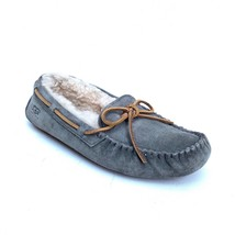 UGG Womens US 7 Eu 38 Dakota Pewter Gray Suede Moccasin Slippers Shoes - £36.65 GBP