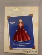 Hallmark Keepsake Ornament Celebration Barbie Special 2002 Edition Holid... - $9.90