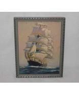 "Wonderful 7"" X 9"" 2D Clipper SHIP Picture Print - $77.26"