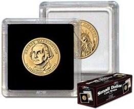 BCW 2x2 Coin Snap Holder Sacagawea/Sba/Presidential Dollars (26.5Mm), Clear - $13.02