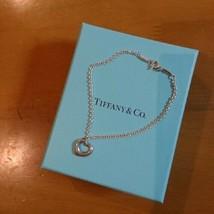 Tiffany & Co. Sterling Silver Open Heart Bracelet Elsa Peretti Free Shipping - $75.45