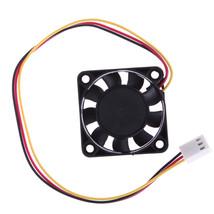 3 Pin 40mm Computer CPU Cooler Cooling Fan PC 4cm 40x40x10mm DC 12V  - ₹243.61 INR