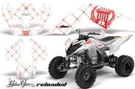 ATV Graphics Kit Quad Decal Sticker Wrap For Yamaha Raptor 700 06-12 RELOAD R W - $169.95