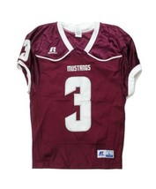 Russell Athletic Color Block Game Football Jersey Men's L XL XXL Maroon ... - $41.08+