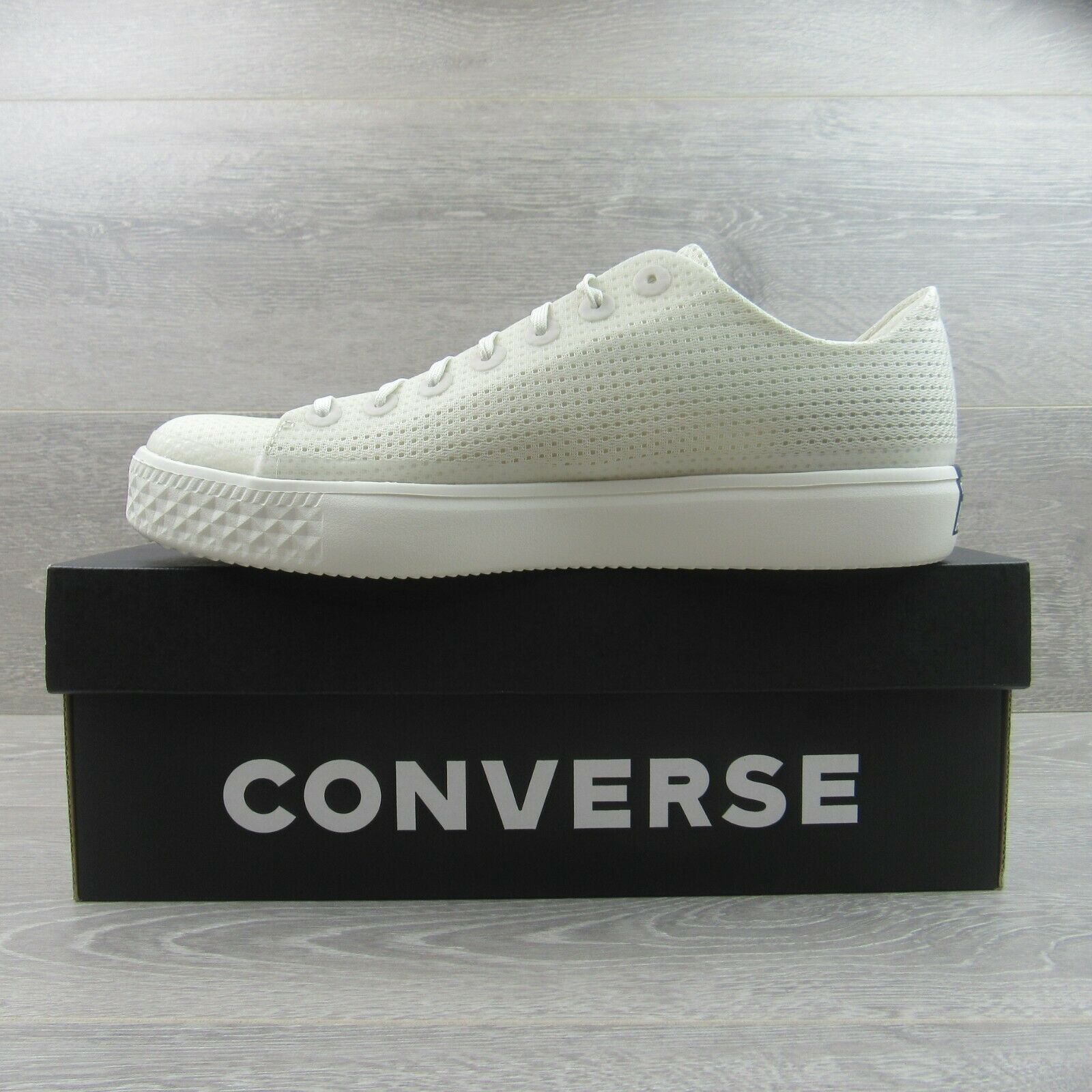 Converse CTAS Modern OX Buff White Shoes Size 9.5 Mens NEW 156652C image 3
