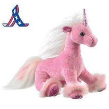 Wildlife Artists Unicorn Plush Stuffed Toy, Pink - $11.11