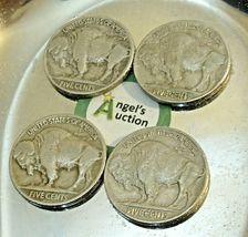 Buffalo Nickel 1934, 1935, 1936 and 1937  AA20BN-CN6091 image 3
