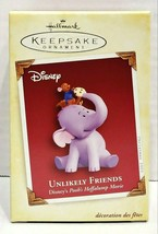 2005 Hallmark Keepsake Unlikely Friends Disney's Heffalump Ornament QXD4215 - $40.00