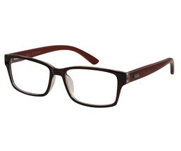 EBE Bifocal Retro Style Buying Glasses Black Crystal With Hard Wood Temples - $35.29