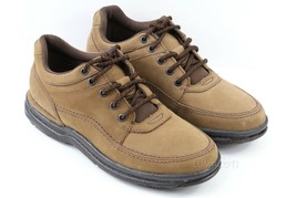 Mens Rockport World Tour Classic Oxford Shoes - Chocolate Nubuck [K71181] - $54.99