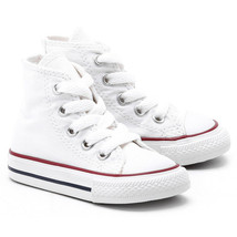 Converse All Star Chuck HI 7J253 Canvas Optical White Kids Baby Toddler ... - $28.95