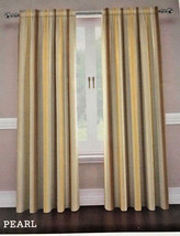"Traditions Waverly Lover's Lane Pearl 2 Window Panels 104""x 84"" Curtains... - $69.18"