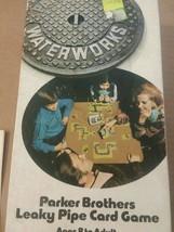 Waterworks Card Game Parker Brothers Leaky Pipe Vintage 1972 Complete  - $11.87