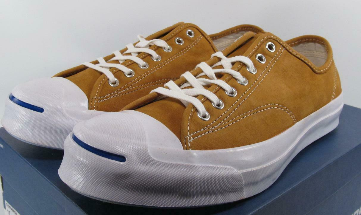 Converse Jack Purcell JP Signature Series Ox Suede LUGGAGE TAN 151448C (MEN 13)