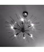 Mid Century Urchin Chandelier Pendant Lamp Handmade Atomic Brass Chandel... - $230.30