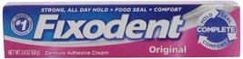 Fixodent Complete Original Denture Adhesive Cream, 2.4 Oz - $6.47
